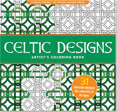 Artists Colouring Book Celtic Designs
