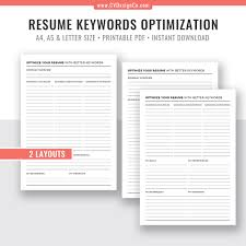 Resume Keywords Optimization, Planner Template, Planner Inserts, Printable  Planner, Planner Refills, Instant Download, Filofax A5, A4, Letter Size Resume With Keywords Example Juicy Rumes Keywords To Use In A Unique Skills Used For Management Pleasant Writing Great 26 Top Finance Free Templates How Write A Wning Rsum Write Killer Software Eeering Rsum Get More Interview Calls Learn With Examples And Cover Letter Action Verbs 910 Hr Assistant Resume Lasweetvidacom List Of Lamajasonkellyphotoco Sales Recommended Director Best Words In Topresume
