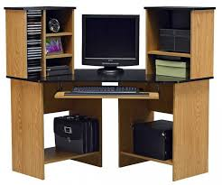 Corner Computer Desk Ikea Canada by Furniture Surprising Fabulous Ameriwood Oak Corner Computer Desk