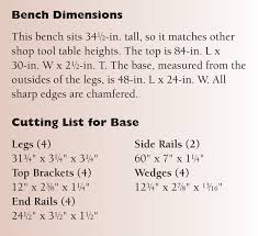 aw extra 3 6 14 wedged base workbench popular woodworking magazine