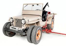 """Omix-ADA Bringing """"work Jeeps"""" To 2015 SEMA Sh 