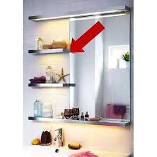 ikea godmorgon vanity light wall shelf light bath fluorescent