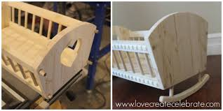 Baby Doll's Crib - Love Create Celebrate How To Build A Rocking Horse Wooden Plans Baby Doll Bedding Chevron Junior Rocking Chair Pad Pink Chairs Diy Horse Tutorials Diy Crib Doll Plan The Big Easy Motorcycle Wood Toy Plans Pdf Download Best Ecofriendly Toys That Are Worth Vesting In And Make 2018 Ultimate Guide Miniature Fniture You Can Make For Dollhouse Or Fairy Garden Toy Play Childs Vector Illustration Outline