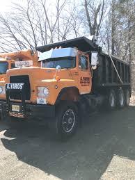 100 R Model Mack Trucks For Sale 1985 Triaxle Dump Tri Axle Truck Used For Sale