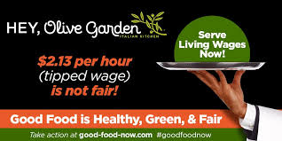 The Politics on Your Plate at Olive Garden