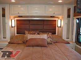 Camper Interior Decorating Ideas by Rv Bedroom Ideas Allegro Breeze Compact Class A Motorhome