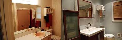 Before And After Photographs Of A Bathroom Remodel Showing That You Can Give Your