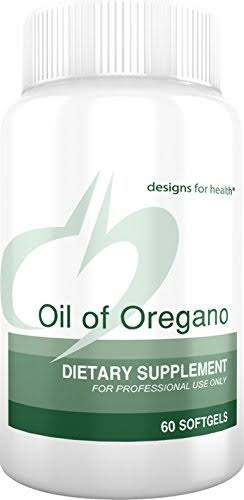 Designs for Health Oil of Oregano Supplement - 60mg, 60 Softgels
