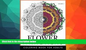 Price Floral Mandala Coloring Books Volume 3 Meditation Book Roger Ed On Audio