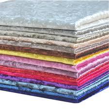 tissu canapé demi mètre coloré épais velours tissu d ameublement pour canapé