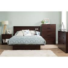 South Shore Soho Double 6 Drawer Dresser by South Shore Step One 2 Drawer King Size Platform Bed In Chocolate