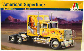 Italeri American Superliner 3820 1/24 New Plastic Truck Model Kit ... Revell Iveco Stralis Truck Plastic Model Kit Trade Me Kits Colpars Hobbytown Usa Ford Photographs The Crittden Automotive Library 132 Scale Snaptite Fire Sabes Amt 125 Freightliner Cabover 620 Mib Truck Plastic Model Kits My Website Blog 3dartpol Blog Convoy Mack Plastic 1965 Chevrolet Fleetside Pickupnew Pictures Scale Auto Magazine Buy 301950s Cartruck 11 Khd A3000 Wwii German Icm Holding Model White Freightliner 2in1 For Amazoncom Monogram 124 Gmc Pickup With Snow Plough Toys