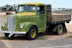 100 Sa Truck Olary SA Australia November 11 2017 Vintage Morris
