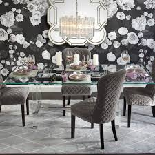 Mirrored Dining Table Sophie Collection Z Gallerie Mirrored Dining