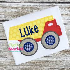 Dump Truck Embroidery Applique Design For Embroidery Machine Personalized Birthday Dump Truck Applique Shirt Or Bodysuit Girl Boy Valentines Day With Hearts Boyss Tow Machine Embroidery Design Blue Green Boy Christmas Mardi Gras Crimson Football Dumptruck Little 2 Dump Truck Applique Etsy Shamrock Saint Patricks Embroitique Gifts Filled For