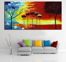 supplies painted canvas modern abstract landscape abstract