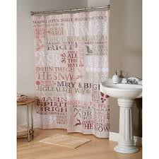Boscovs Blackout Curtains by Avanti Holiday Words Shower Curtain Boscov U0027s