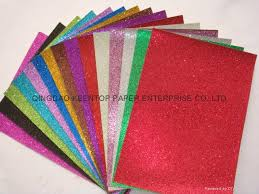 Color Glitter Paper For Craft Work And Wrapping Kt 003 Colour