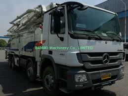 100 Best Used Truck Sale Zoomlion Used Concrete Pump Truck 52m 56m