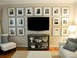 Idea To Decorate Around Wall Mounted Tv