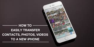 How to easily transfer contacts photos and videos from an iPhone