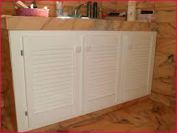 porte de meuble de cuisine sur mesure porte placard persienne sur mesure avec porte placard sur mesure