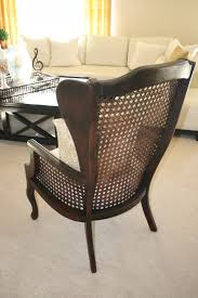 Used Pottery Barn Seagrass Chairs by Funiture Marvelous Wicker Wingback Chair Pier One Seagrass