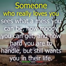 Someone Who Really Loves You Best English Quotes Sayings