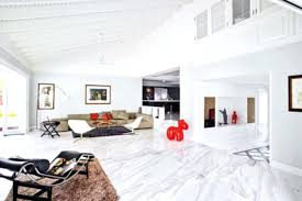 White Marble Floors Living Room With Walls And Flooring The Benefits