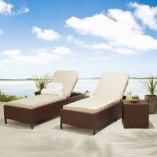 Strathwood Patio Furniture Cushions by Strathwood Griffen All Weather Wicker Chaise Lounge Discount