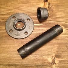 diy remake of restoration hardware u0027s industrial shelving bracket