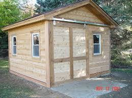 Loafing Shed Kits Utah by Storage Shed With Sliding Barn Door Barn Doors Hardware