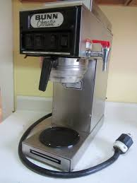 Ebay Bunn Coffee Maker Inspirational Omatic Mercial Coffe Brewer 3 Burner With Hot Water Tap