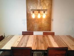 Wood Pallet Light Fixture