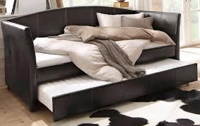 home affaire daybett maja mit dekorativen ziernähten und einer zweiten ausziehbaren liegefläche