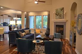Amorosa Bordeaux Model Home Contemporary Living Room