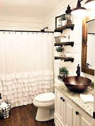 Orange Camo Bathroom Decor by Best 25 Small Rustic Bathrooms Ideas On Pinterest Small Country