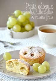 dessert aux raisins frais petits gâteaux aux amandes huile d olive raisins frais les