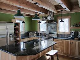 Rustic Kitchen Lighting Ideas by Kitchen Style Galley Kitchen Layouts With Peninsula Modern