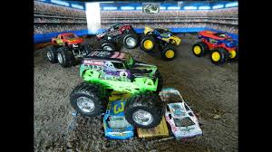 100 Monster Jam Toy Truck Videos Jumps S YouTube