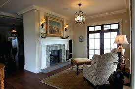 Living Room Lighting Ideas Traditional Light Switches With Linen Decorative Pillows