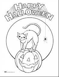 Scary Halloween Coloring Sheets Printable by Impressive Pumpkin Coloring Pages With Halloween Pumpkin Coloring