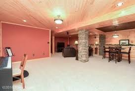 Exposed Basement Ceiling Lighting Ideas by Rustic Basement Ideas Design Accessories U0026 Pictures Zillow