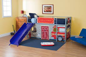 Amazon.com: DHP Curtain Set For Junior Loft Bed With Fire Department ... Kidkraft Firetruck Step Stoolfiretruck N Store Cute Fire How To Build A Truck Bunk Bed Home Design Garden Art Fire Truck Wall Art Latest Wall Ideas Framed Monster Bed Rykers Room Pinterest Boys Bedroom Foxy Image Of Themed Baby Nursery Room Headboard 105 Awesome Explore Rails For Toddlers 2 Itructions Cozy Coupe 77 Kids Set Nickyholendercom Brhtkidsroomdesignwithdfiretruckbed Dweefcom Carters 4 Piece Toddler Bedding Reviews Wayfair New Fniture Sets