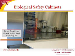 uv light and biosafety cabinets ppt