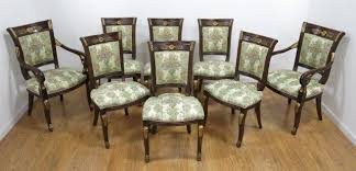 8 Empire Style Dining Chairs Loading Zoom