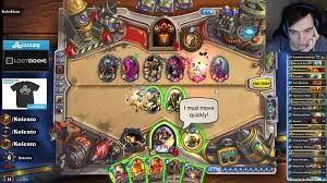 crazy board clear in kolento s heroic brawl hearthstone