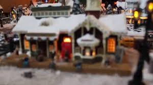 Thomas Kinkade Christmas Tree Village by Thomas Kinkade Christmas Village Youtube