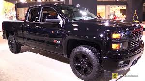 2015 Chevrolet Silverado LT Z71 Midnight Edition - Exterior And ... New Truck Bought 2015 Chevy 2500 Hd Leveling Kit The Hull Truth Chevrolet Sema Concepts Strong On Persalization Gmc Canyon 25l 4x4 Test Review Car And Driver Silverado Was Completely Engineered For 2011 So The Rally Sport Custom 2014 2016 Suv V8 Models Can Increase Edition News Information Trucks Suvs Vans Jd Power Cars High Country Debuts At Denver Auto Show Classic Garage Dfw Features Made Official Wheel