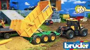 BRUDER TOYS 4WD Fastrac Sand Transport | Tractor Video | Toyz Rule ... Bruder Toys Man Tipping Truck W Schaeff Mini Excavator 02746 Youtube Bruder Truck Dhl Falls Into Water Trucks For Children Scania Timber Pimp My My Amazing Toys Cement Mixer Model Toy Truck Which Is German Sale Trucks Side Loading Garbage Review 02762 Hecklader Mll Lkw Operated By Jack3 Bruder Dodge Ram 2500heavy Duty2017 Mb Sprinter Animal Transporter 02533 Tractor Case Plowing With Lemken Plow Kids Video World Cat Excavator Riding In The Mud Videos Children Chilrden Matruck Played Jack 3